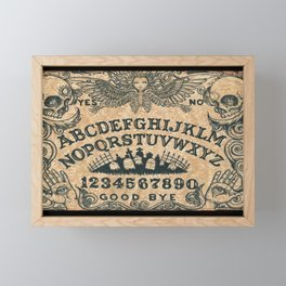 Ouija Board Framed Mini Art Print