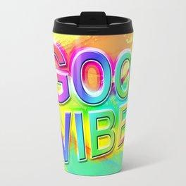 Good Vibes Travel Mug