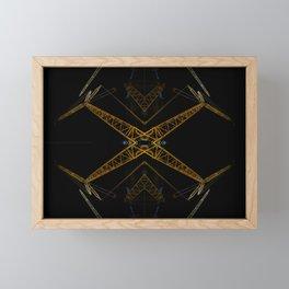 Los colosos Framed Mini Art Print