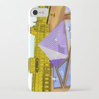 bonjour iPhone & iPod Cases featuring Bonjour by Hola Vicky