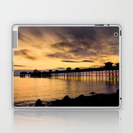 Sunrise at Llandudno Pier Laptop & iPad Skin