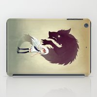 anime iPad Cases featuring Werewolf by Freeminds