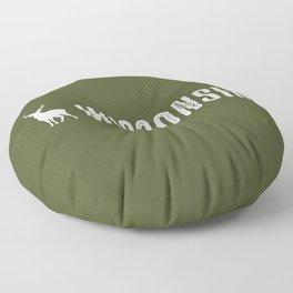 Deer: Wisconsin Floor Pillow