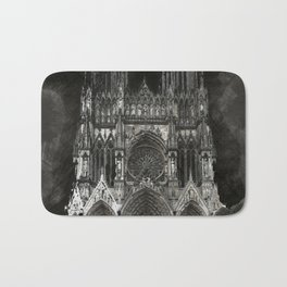Cathedral Black Bath Mat