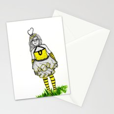 The BumbleBee Girl  Stationery Cards