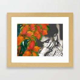 Tribute to Frida Kahlo #40 Framed Art Print