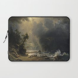 Albert Bierstadt's Puget Sound on the Pacific Coast Laptop Sleeve