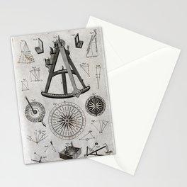 Illustrations of elements of navigation (1791) Stationery Cards