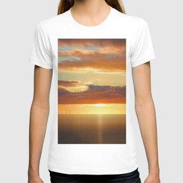 Irish Sea - Heavy Skys (Digital Art) T-shirt