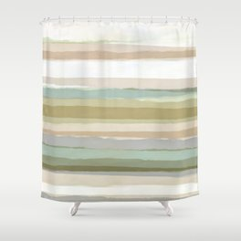 Strips 1 Shower Curtain