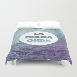 La Buena Onda (Good Vibes) Duvet Cover