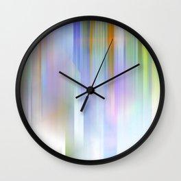 Bleu celeste Blur Wall Clock