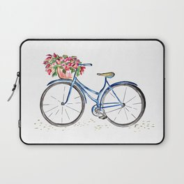Spring bicycle Laptop Sleeve