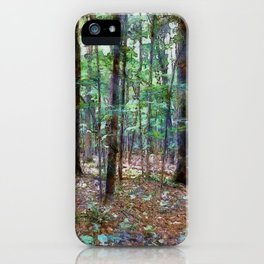 Forest PhotoArt iPhone Case