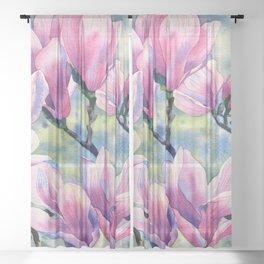 """Magnolia"" Sheer Curtain"