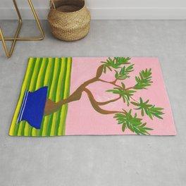 Bonsai: potted plant VI Rug