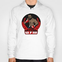gym Hoodies featuring Clubber's Gym by Buby87