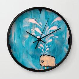 Swim With Me Wall Clock