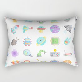 CUTE SCIENCE / SPACE / SCI-FI PATTERN Rectangular Pillow