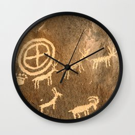 Journal of the Ancients Wall Clock