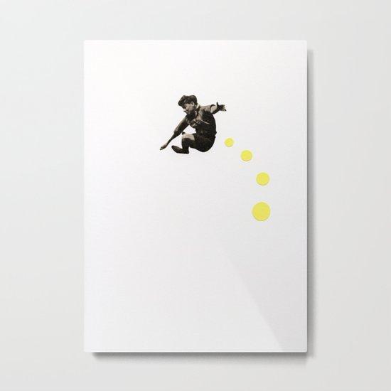 How High Can You Jump? Metal Print