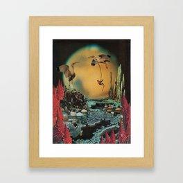 Licorice Icarus Framed Art Print