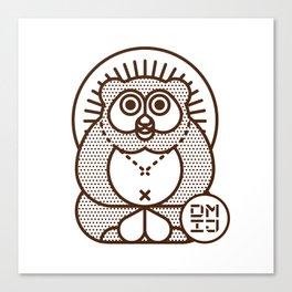 TANUKI Canvas Print