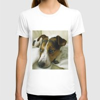 jack russell T-shirts featuring jack russell by Brmbrmba27