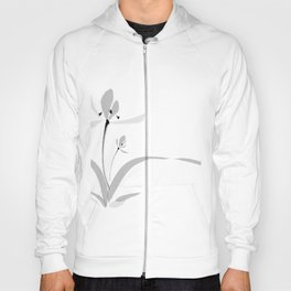Chinese orchid ink painting - romantic & deep love Hoody