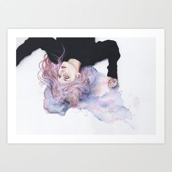 miss violence Art Print