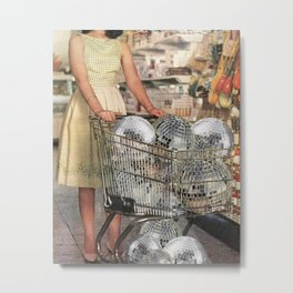 (Disco)unt Supermarket Metal Print