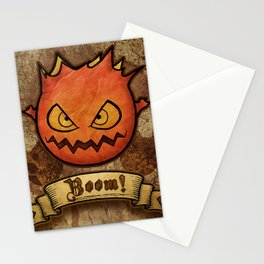 boom ! bomb Stationery Cards