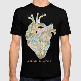 A Traveller's Heart (UK) T-shirt