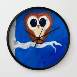 Big Eyes Wall Clock