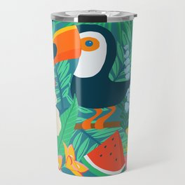 Tropical Flow Travel Mug