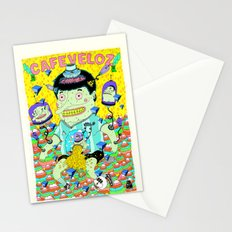 cafe veloz Stationery Cards