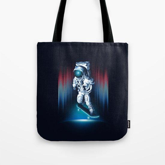 Space Skater Tote Bag