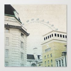 Letters From The London Eye Canvas Print