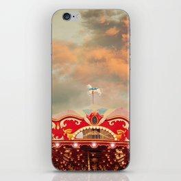 Wonderful Whirled Carousel iPhone Skin