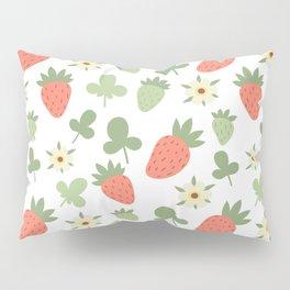 Stawberry Pattern Pillow Sham