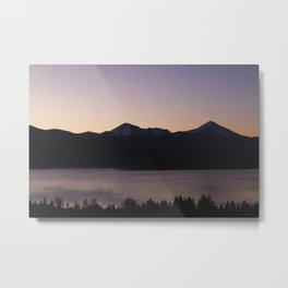 Sunset at Lake Dillon Metal Print