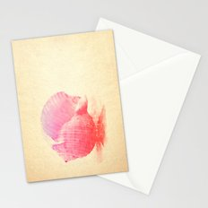 Pink Seashell Stationery Cards