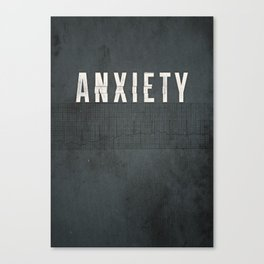 Anxiety Canvas Print