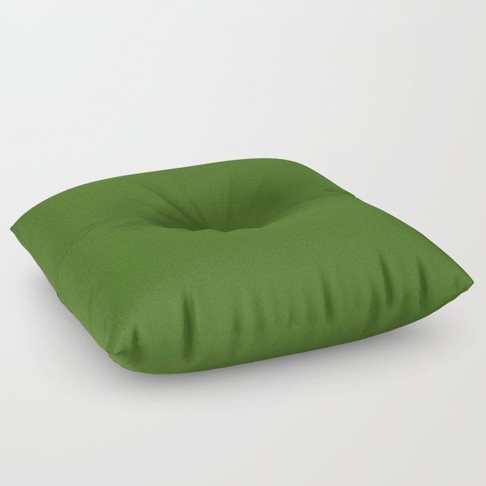 Tropical Jungle Green Floor Pillow