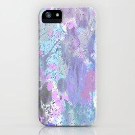 Dull Splatter iPhone Case