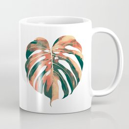 Tropical Monstera Leaf Coffee Mug
