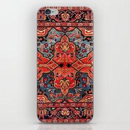 Kashan Poshti Central Persian Rug Print iPhone Skin