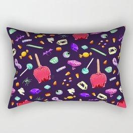 Halloween Candy Pattern Rectangular Pillow