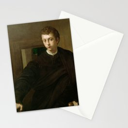 Parmigianino - Portrait of a Young Nobleman Stationery Cards