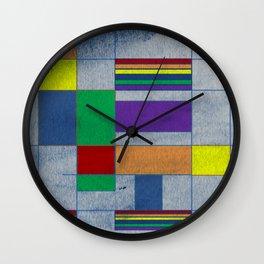 Mid-Century Modern Art - Rainbow Pride 1.0 Wall Clock
